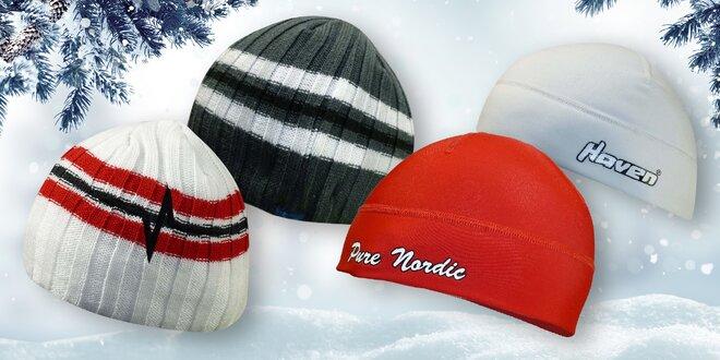 Zimní čepice v pěti barvách