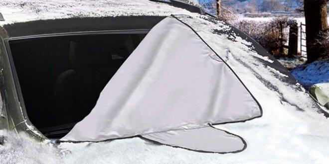 Ochranná plachta na čelní sklo auta na zimu i léto