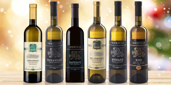 Prémiová vína z Gruzie: bílé, červené a kvevri