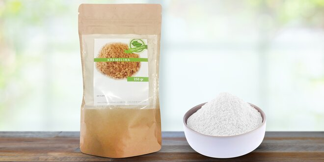 Pročistěte organismus: 100% přírodní křemelina