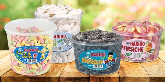 Bonbony Haribo: 16 druhů oblíbených pamlsků