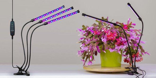 LED osvětlení pro pěstování rostlin doma: 20–30 W