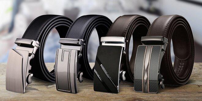 Elegantní pánské opasky: 12 stylů, černé i hnědé