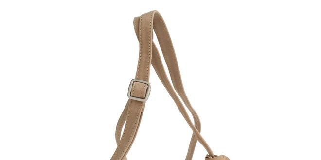 Dámská béžová kabelka Fuchsia