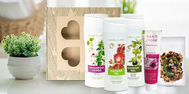 Dárkové kosmetické balíčky s goji a konopím