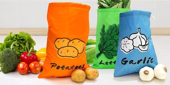 Pytlíčky na zeleninu, které ji udrží déle čerstvou
