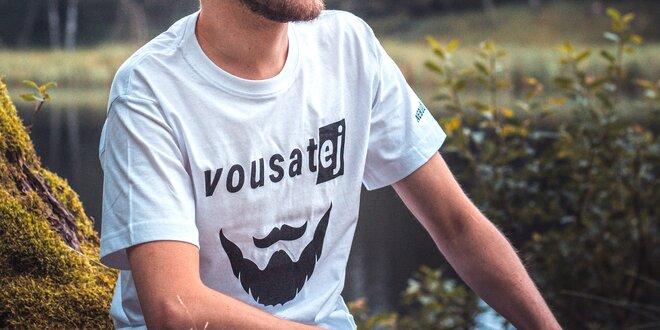 Pánská a dámská bavlněná trička Nebuď nahej®