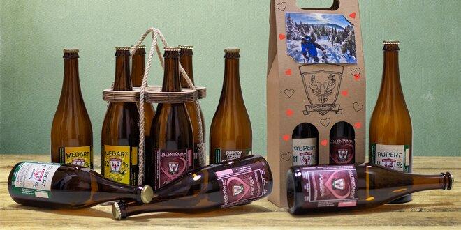 Valentýnský balíček 2–4 velkorakovských piv