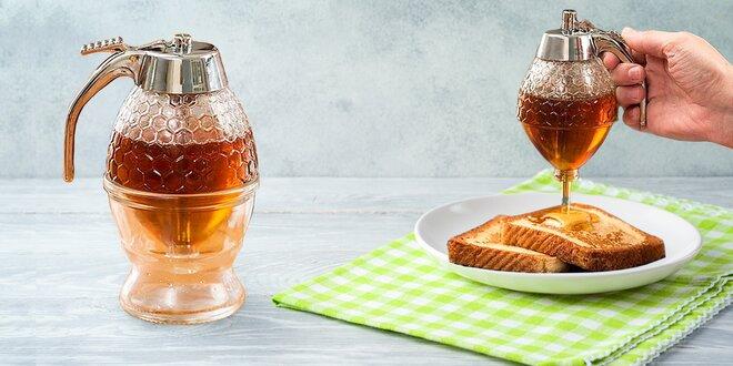 Ani kapka nazmar: nádoba na dávkování medu, 200 ml