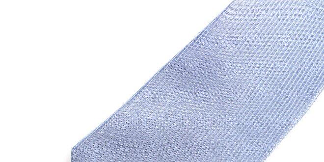 Pánská světle modrá hedvábná kravata Pietro Filipi  de51fdf8fb
