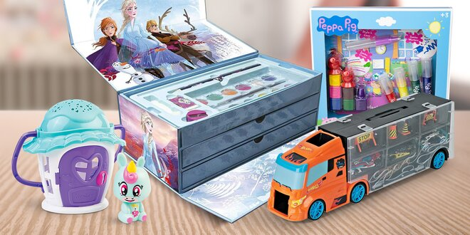 Hračky a malování od francouzské značky D'arpèje
