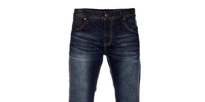 Pánské tmavě modré džíny Exe Jeans  60e2bb47d5