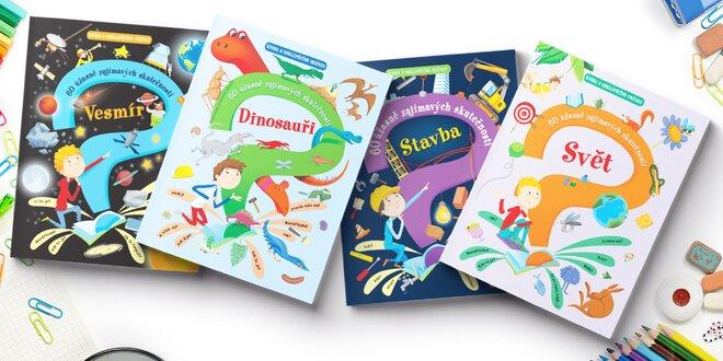 Pro děti: okénkové knížky s otázkami a odpověďmi