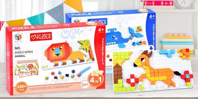 Kreativní skládací sada Mozaika pro děti
