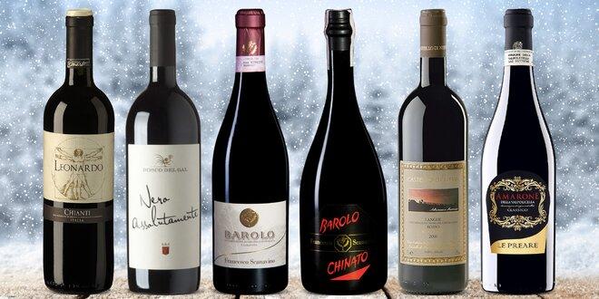 Italská červená vína: Toskánsko, Piemonte i Veneto