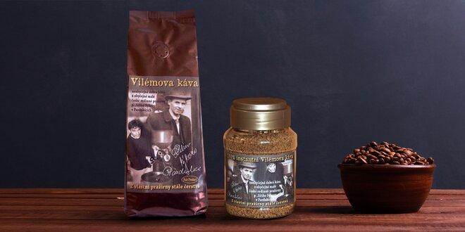 Káva z rodinné pražírny: zrnková, mletá i instantní
