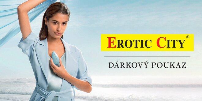 Dárkové poukazy do Erotic City: 500 až 2000 Kč