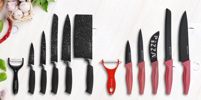Sady keramických a nerezových nožů i se škrabkou