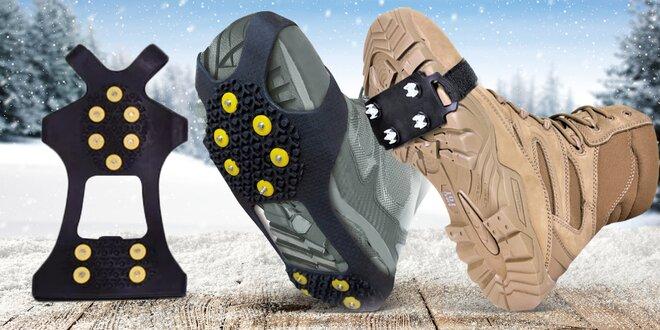 Protiskluzové návleky na boty pro bezpečnější pohyb