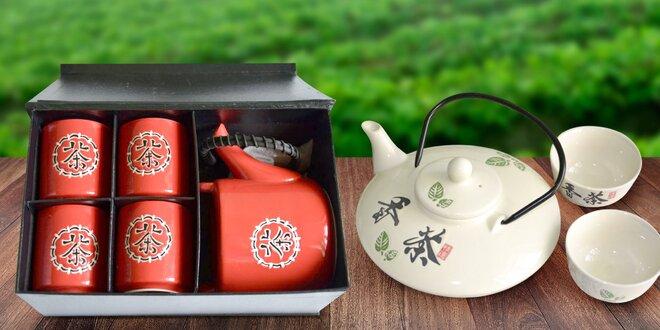 Keramické čajové misky, hrníčky i celé soupravy