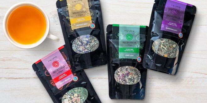 Blahodárné čajové směsi s filipínskou moringou
