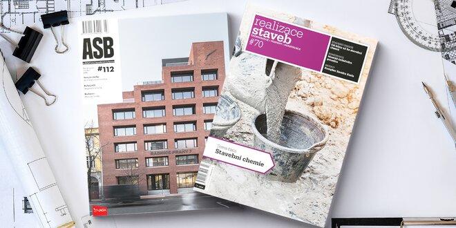 Roční předplatné časopisů Realizace staveb či ASB
