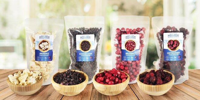Lahodné mrazem sušené ovoce z celého světa