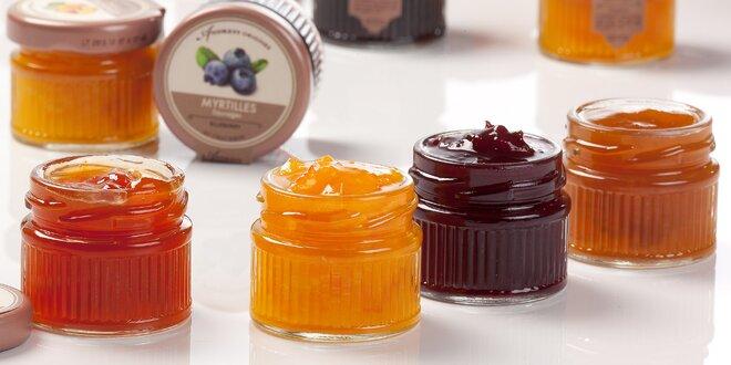 9–20 ks francouzských džemů v dárkovém balení