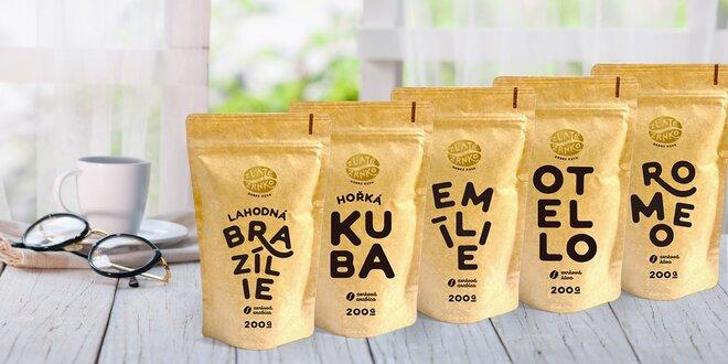 Degustační sady prémiových káv z oceňované pražírny