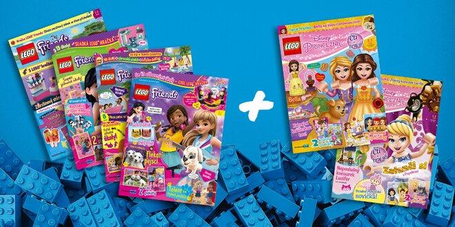 Roční předplatné časopisu LEGO FRIENDS + dárek