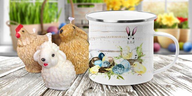 Velikonoční sety: plecháček, svíčky i překvapení