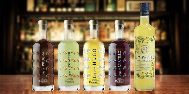 Italské likéry: borůvkové, švestkové i pistáciové