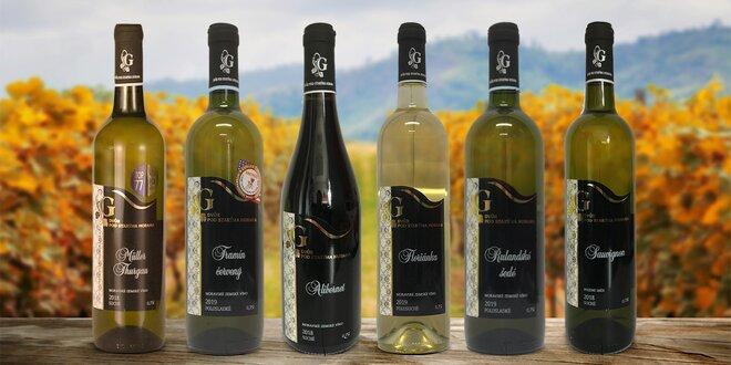 Vína z vinařství Dvůr pod Starýma horama