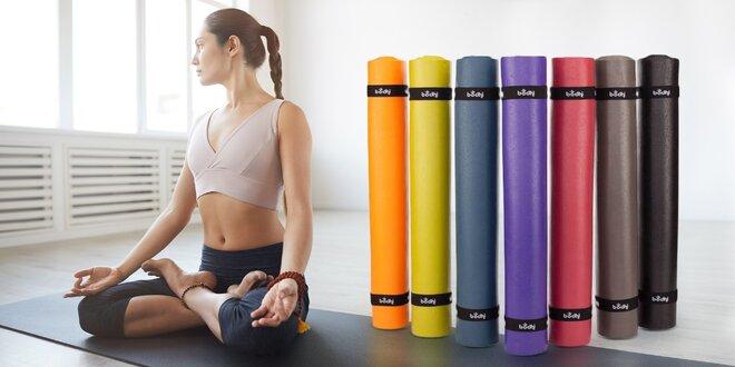 Podložky na jógu: 100% přírodní i z PVC, 12 barev