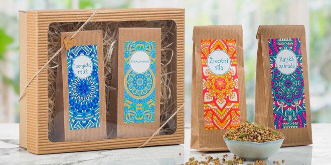 Ajurvédské bylinné směsi na čaje plné síly i energie