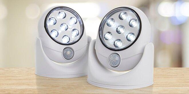 Chytré nástěnné LED světlo s pohybovým senzorem