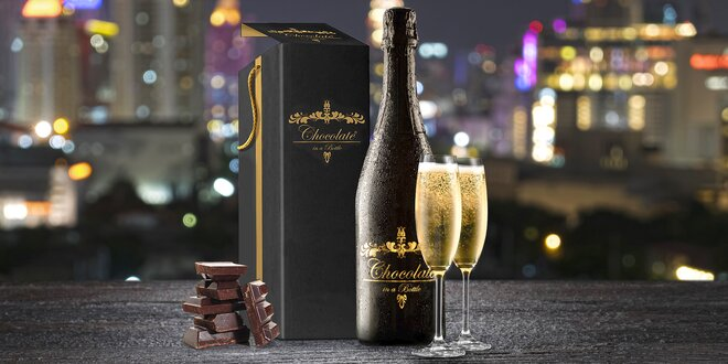 Šum čokolády a oříšků ukrytý v jedné luxusní lahvi