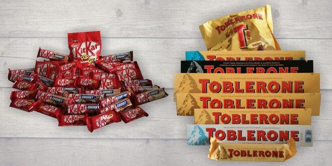 Obří balení dobrot: Mars, Twix, Toblerone i KitKat