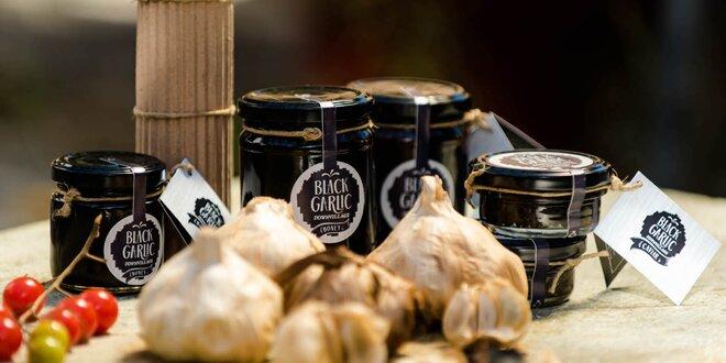 Černý česnek: stroužky, med, kečup i set delikates