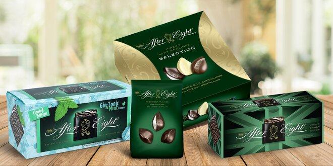 Čokolády After Eight: limitované edice i pralinky
