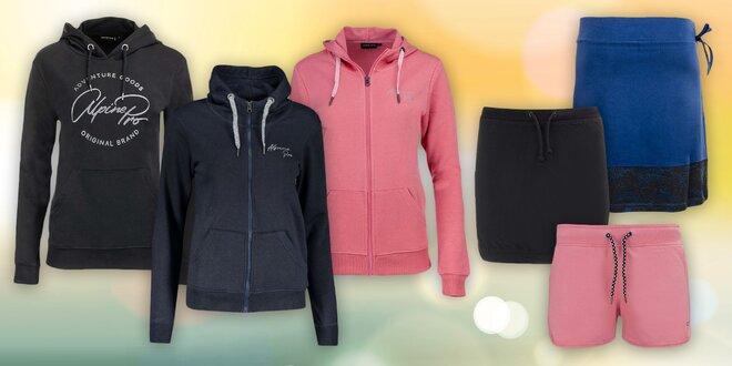 Dámské sukně, šortky a mikiny s kapucí Alpine Pro