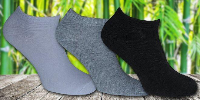 12 párů pánských kotníkových ponožek: černé či mix