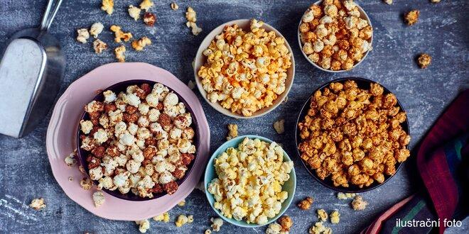 Úžasný popcorn: 6 litrů, 4 příchutě
