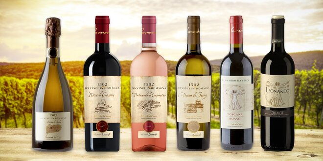 Italská vína podle génia Leonarda da Vinci