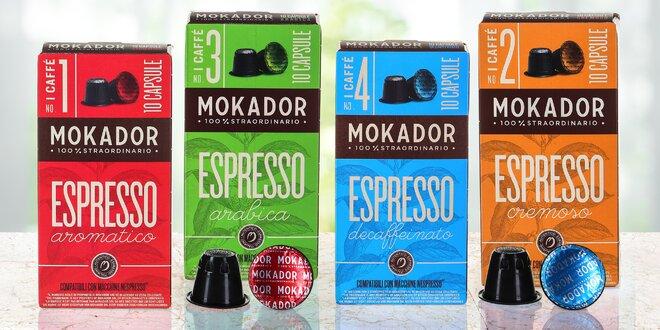 Kávové kapsle do kávovarů Nespresso: bio i bez kofeinu