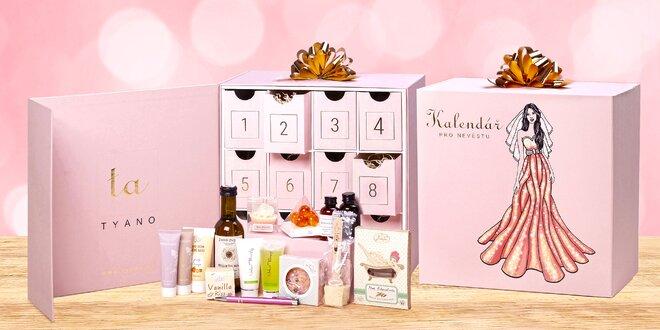Kalendář s 12 okýnky pro nevěsty i zamilované páry