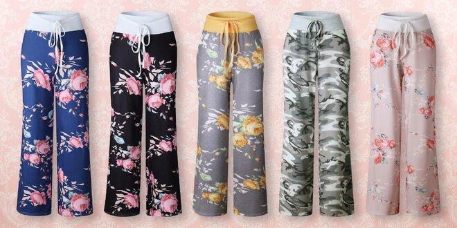 Lehké a pohodlné kalhoty pro volný čas