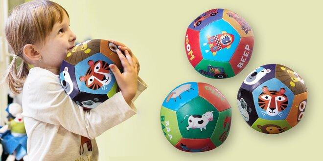 Veselé barevné míče pro nejmenší děti