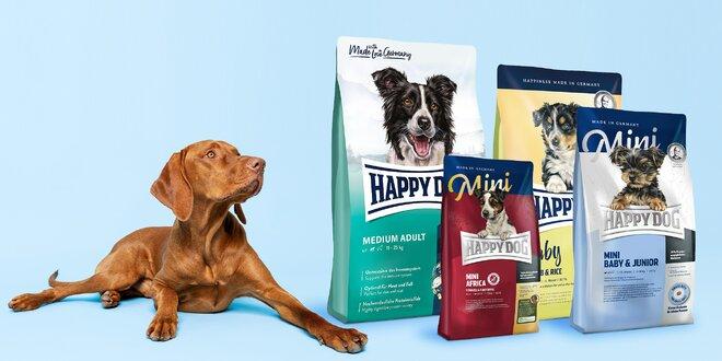 Happy dog krmiva pro dospělé psy i štěňata