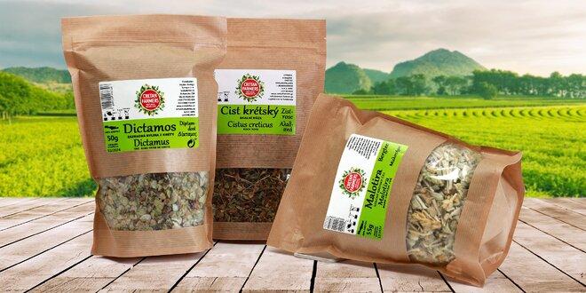 Zdravé a lahodné bylinné čaje z Kréty